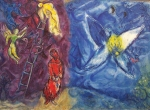 Chagall. Escala de Jacob 03