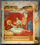 Giotto. Isaac refusa Esaú