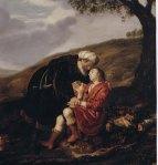 Jan Victors (1642) Abraham i Isaac abans del sacrifici