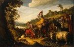 Lastman Pieter. Abraham camí de Canaan