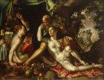 Wtewael, Joachim. Lot i les seves filles