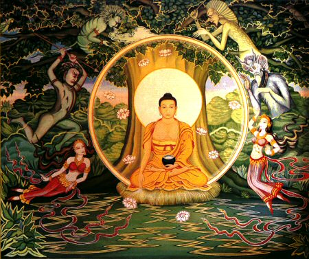 Buddha i Mara