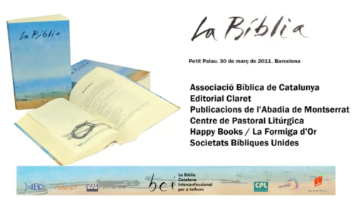 nova edició bíblia