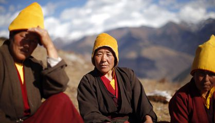 monjos tibetans a Dafou