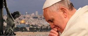 foto papa francesc a terra santa