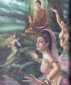 siddharta i les filles de mara